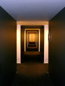 A Hallway with Multiple Paths