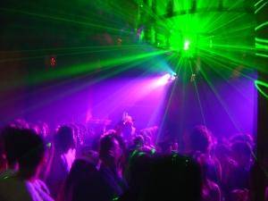 A dance club