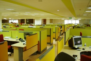 Endless cubicles!