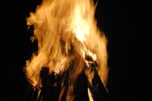 A bigger fire