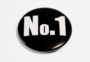 Number 1 button