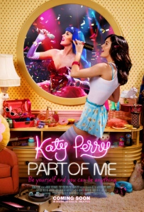 Katy Perry, Part of Me theatrical release poster