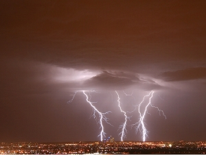 3 bolts of lightning