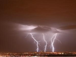 3 bolts of lightning