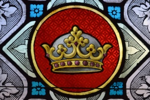 stained glass crown