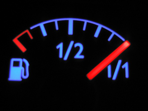 a full gas tank
